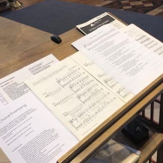 Sermon Choral Evensong Easter 5