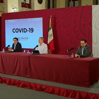 Más de ocho mil contagios por Covid-19 en México