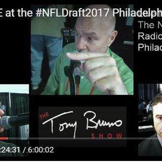 Part 3: We were LIVE from the #NFLDraft2017 Philadelphia for 6 HOURS breaking it down like only Tony can do!
