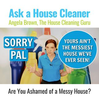 Are You Ashamed of a Messy House?