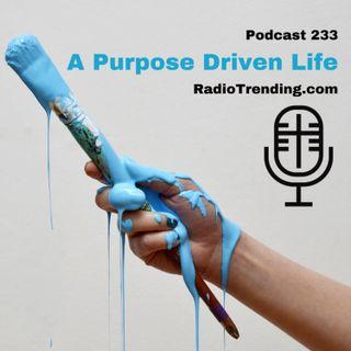 233: A Purpose Driven Life