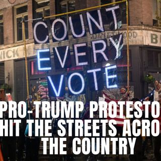 "11.5 | Pro Trump Prostestors Hit The Streets And Demand ""Count Every Vote!""  Black Men Leaving the Democrat Party"