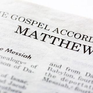 Bible Study: Matthew 1-4