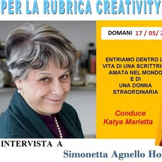 """Simonetta Agnello Hornby -  ci apre le porte di casa sua e della sua vita, davanti al suo ultimo romanzo """"Caffe' amaro"""""""