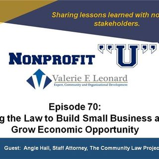 Using the Law to Build Small Business and Grow Economic Opportunity