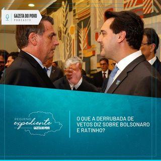 Pequeno Expediente #90: Ratinho Junior e Bolsonaro tiveram vetos derrubados. O que isso significa?