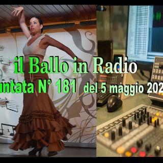Tony Mantineo MUSICANDO il BALLO 181 Radio/TV 5/5/2020