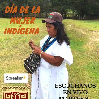 Mujeres indígenas tejiendo re-existencia