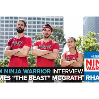 "Team Ninja Warrior | James ""The Beast"" McGrath Interview"