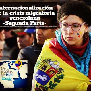 Internacionalización a la crisis migratoria venezolana II parte