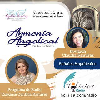 Armonía Angelical Señales Angelicales