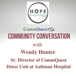 CommQuest Community Chat with Wendy Hunter