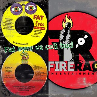 FIRE RAQ SHOW PRESENT CALI BUD AND FAT EYES LABEL