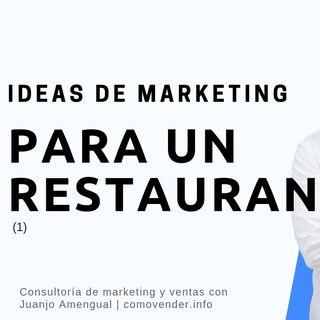 Ideas de marketing para un restaurante