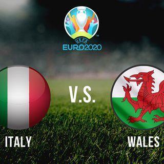 Italia - Galles, fase a gironi 3° turno
