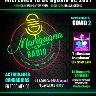 Mariguana RADIO Frecuencia psicoactiva de México 18082021