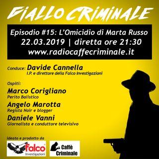 #15 Episodio | L'Omicidio di Marta Russo_22.03.2019