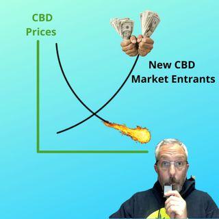 CBD Prices Fall as More Companies Enter the Market