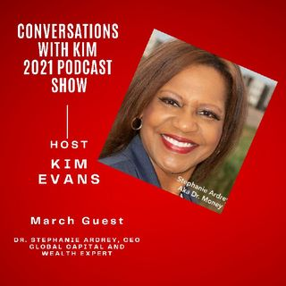 Episode #17:1 Health is Wealth, Dr. Stephanie Ardrey.  Welcome to Inspired Conversations Podcast Show with Host, Kim Evans.