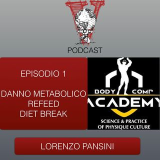Invictus Podcast ep. 1 - Lorenzo Pansini - Danno metabolico, Refeed, Diet break e altro
