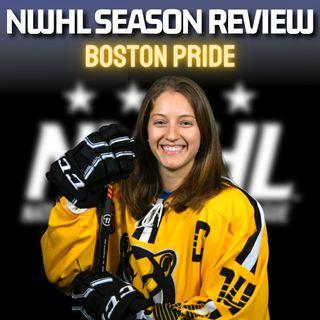 NWHL Season Review - BOSTON PRIDE! With Captain and MVP Jillian Dempsey