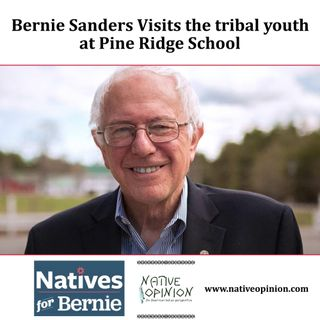 Episode 27 Bernie Sanders Visits Pine Ridge Youth