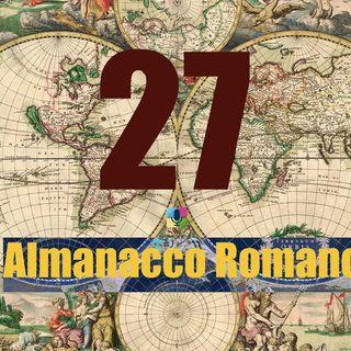 Almanacco Romano, 27 Aprile