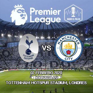 Tottenham Hotspur vs Manchester City en VIVO