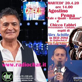 Agostino Penna e Chiccho Fabbri ospiti di Alex Achille di Radiochat.it
