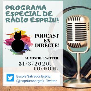 Ràdio Espriu 2019-2020. Programa XVIII