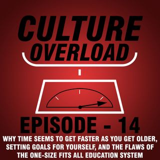 EP 14 - Why Time Seems to Get Faster as You Get Older, Setting Goals for Yourself, and the Flaws of the One-Size Fits All Education System