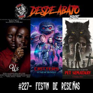 D.A. 227- Festin De Reseñas