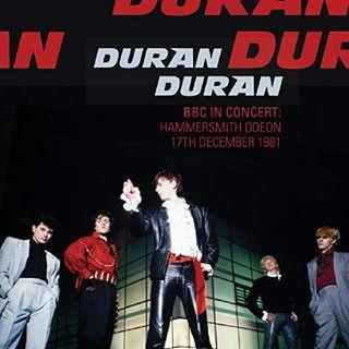 DURAN DURAN LIVE HAMMERSMITH ODEON 1981