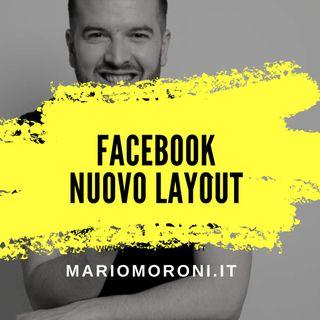 Facebook nuovo layout: white & dark