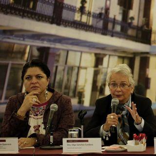 Cambios en estrategia contra violencia de género: Sánchez Cordero