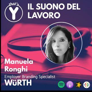 """""""Il Suono del Lavoro"""" con Manuela Ronghi WüRTH"""