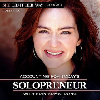 SDH089: Accounting for Today's Solopreneur, with Erin Armstrong