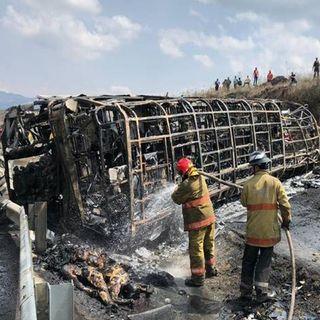 20 muertos por camionazo en la Puebla-Córdoba