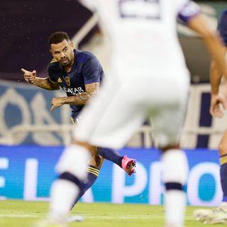 Gol de Boca: Edwin Cardona 0-1