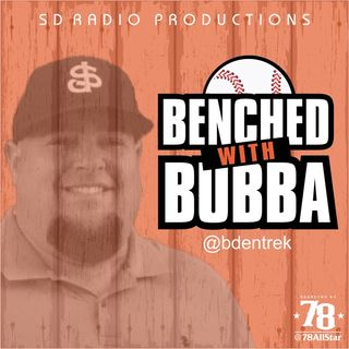 Benched with Bubba Ep 242 - Blockbuster Trades and Baseball Movies with Ben Palmer
