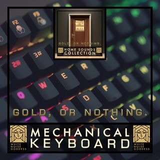 Mechanical Keyboard Sound | White Noise | ASMR & Relaxation