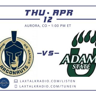 Notre Dame De Namur v Adams State - NCAA D2
