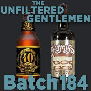 Batch184: Sierra Nevada Hoppy Anniversary & Campanology Tiramisu Stout
