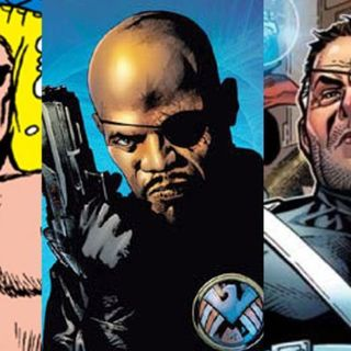 Hero History-Nick Fury
