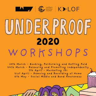 UNDERPROOF: Releasing and Promoting Independently