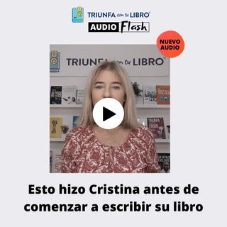 Audio Flash: Esto hizo Cristina antes de comenzar a escribir su libro