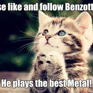 Benzotti Live Support the Metal