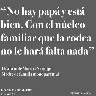 Hist 2. Marina Naranjo, madre monoparental