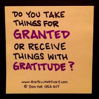 Gratitude Granted : BYS 309