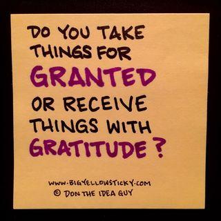 Gratitude Granted : BYS 309
